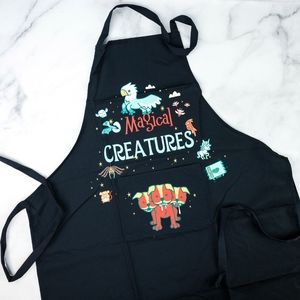 Harry Potter Magical Mythical Creatures Apron
